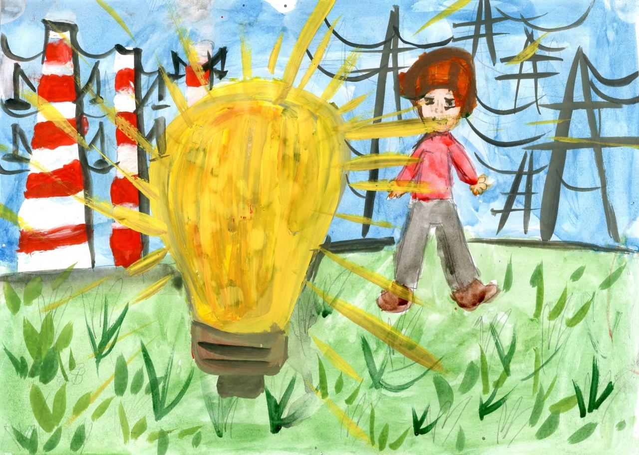 Конкурс детских рисунков о детстве